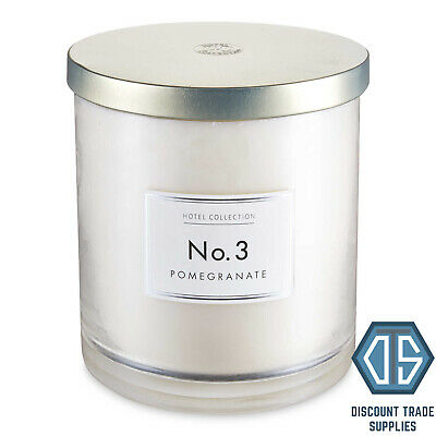 Aldi Hurricane Candle No 3 Pomegranate 4 Wick Candle Extra Large