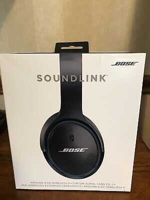 Bose Soundlink Around-Ear Wireless Headphones II NEW black
