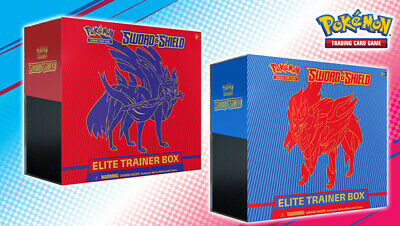 Pokemon TCG: Sword & Shield Elite Trainer Box NEW AND FACTORY SEALED! SHIPS 2/7!