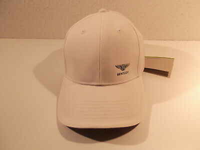 Original BENTLEY Cap Baseball Cap -White -weiß- /DEALER BL1414 -NEU-