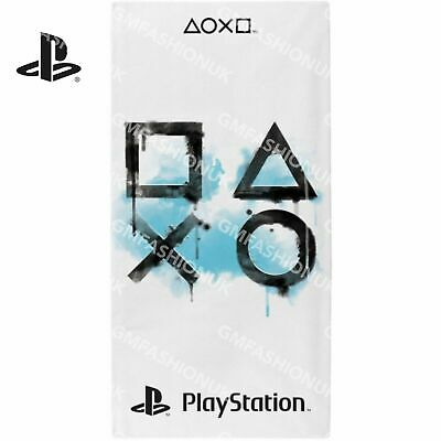 Sony Playstation Official Inkwash Beach Towel 100% Cotton