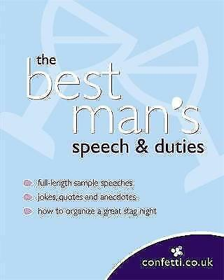 Confetti: The Best Man's Speech & Duties by Octopus Publishing Group...