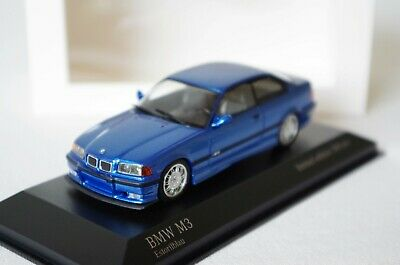 1:43 Bmw 3Er 3 Series M3 Coupe E36 Estoril Blau Blue Bleu Minichamps  No E46 E92