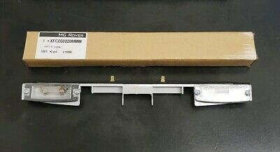 Genuine Rover 75 Rear Number Plate Light Assembly Bar. Genuine MG-Rover Part