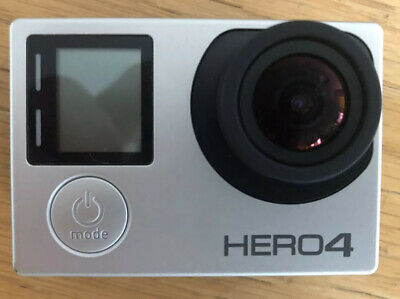 GoPro Hero4 Black Edition GB Camcorder - Silver With Full Accessory Pack