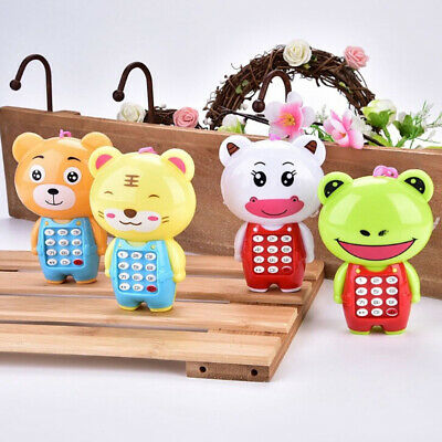 1Pc cartoon music phone baby toys educational learning toy phone gift for ki^P