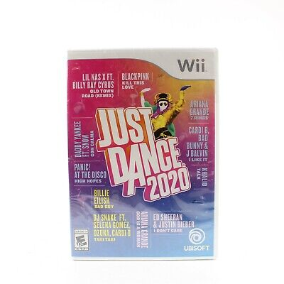 Brand New Just Dance 2020 Wii UBISoft Sealed FAST SHIPPING