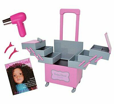 Chad Valley Design A Friend Clothes/Outfit Dolls Stylist Trolley & Accessories