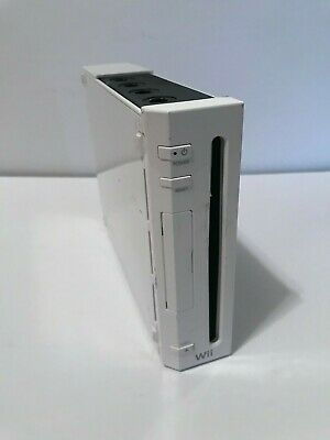 Nintendo Wii System RVL-001 Console Only White Gamecube Compatible Tested Works