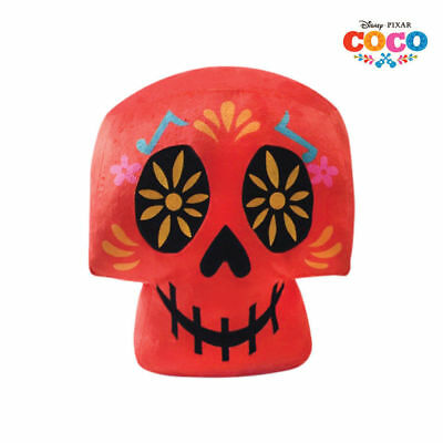 DisneyPixar COCO Movie- Festival of the Dead Red SKELETON HEAD PLUSH TOY Stuffed