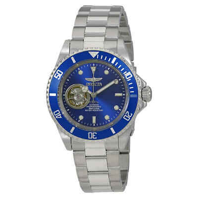 Invicta Pro Diver Automatic Blue Dial Stainless Steel Men's Watch 20434