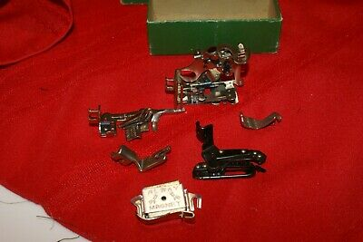 Vintage Singer  Sewing Machine Attachments 160809 AS SHOWN IN PHOTOS