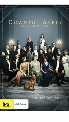 Downton Abbey The Motion Picture Movie BRAND NEW R4 DVD