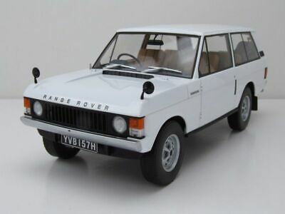 Land Rover Range Rover Rhd 1970 Coche a Escala Blanco 1:18 Almost Real