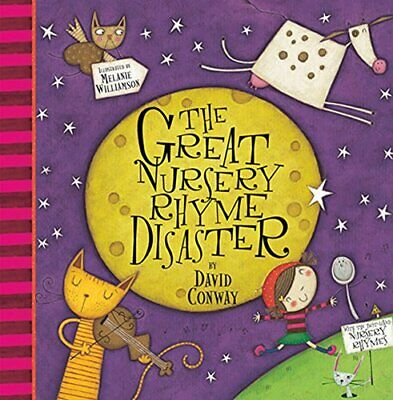 GREAT NURSERY RHYME DISASTER By David Conway *Excellent Condition*