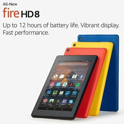 ALL-New Amazon Kindle Fire HD 8 Tablet with Alexa,16GB 8th Generation! FastDeliv