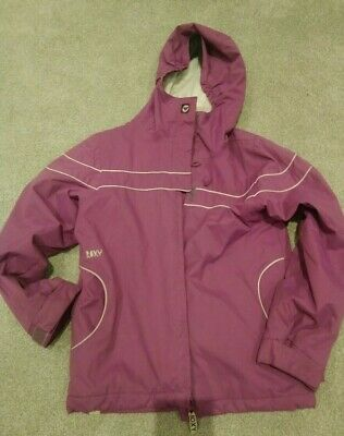 Girls Roxy ski snowboard jacket purple age 10