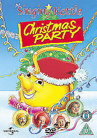 The Singing Kettle - The Singing Kettle Christmas Party DVD Childrens Show NEW