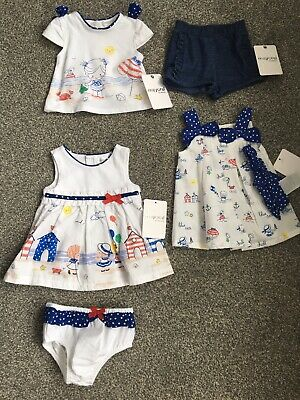 New Bnwt Designer Mayoral Baby Outfits Dresses Girls Age 1-2 Months Newborn
