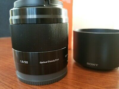 Sony SEL 50mm f/1.8 FE Lens - Black (SEL50F18F) Great Condition