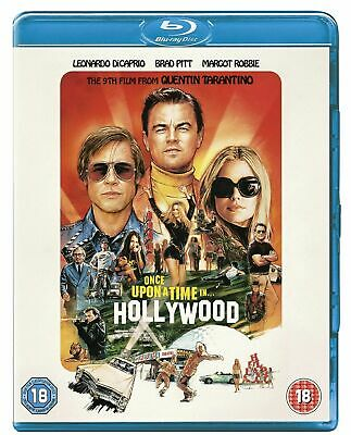 Once Upon A Time in Hollywood Blu ray - brand new not sealed
