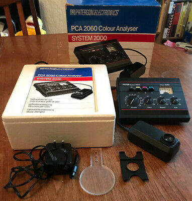 Paterson System 2000 PCA 2060 Colour Analyser, Darkroom Enlarger Developing