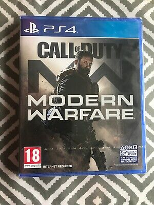 CALL OF DUTY MODERN WARFARE 2019 BRAND NEW SEALED  (PS4) Game SONY PlayStation