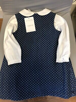 The Little White Company Girls Dress 9-12 Months