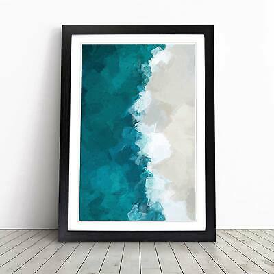 COLORFUL SEASCAPE Beach Poster Picture Poster Print Art A0 A1 A2 A3 A4 3259