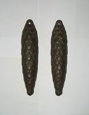 Metal Weights (cones) for Mechanical Clocks with Cuckoo Lot 2 pieces.