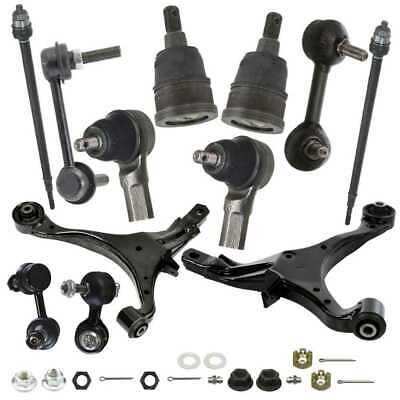 12pc Front Control Arm Ball Joint Suspension Kit For 2002-2006 Honda CR-V