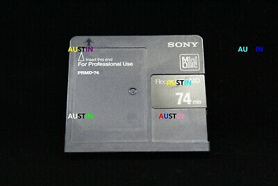 Sony Prmd Professional Use Minidisc ....