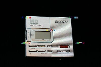Sony Mz R90 Minidisc Player Recorder With Expensive Microphone