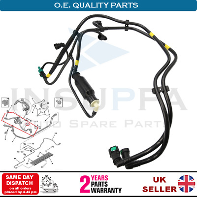 ENGIN FUEL HOSE PIPE HARNESS /& PRIMER PUMP FITS CITROËN C2 1.4 HDi 2003-2009