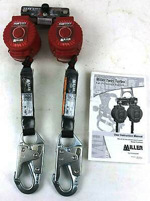 Honeywell Miller 6' 400 Lb Twin Turbo Fall Protector MFLB-3-Z7/6FT New in Box