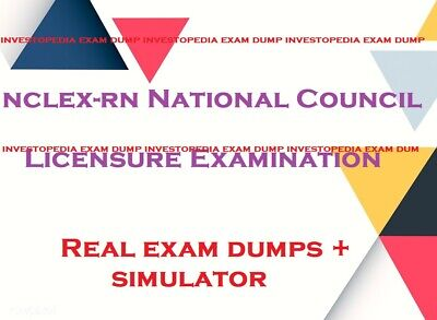 NCLEX-RN  questions answers and simulator