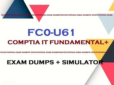 FC0-U61 IT Fundamentals+ Plus exam questions answers and simulator