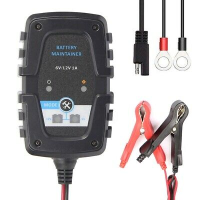 Car Battery Charger Smart Battery Maintenance For Car Motorcycle 6V 12V 1A Auto