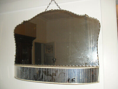 Antique/Vintage,Art Deco, Wall Mounted Mirror