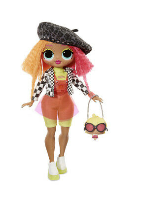 """LOL Surprise OMG Neonlicious 10"""" Fashion Doll Big Sister, Girls Play Set Gift"""