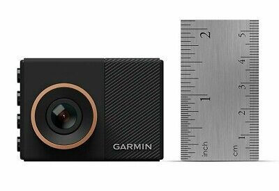 Garmin Dash Cam 55 1440p Small GPS-Enabled Wi-Fi Dash Camera