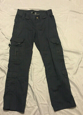 511 Tactical Series Pants Womens Pocket Cargo Regular Dark Navy Blue Size 4