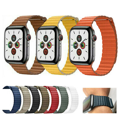 38/42/40/44mm Magnetic Loop iWatch Band Strap for Apple Watch Series 5 4 3 2 1