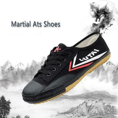 Martial Arts Kung Fu Wushu Tai Chi Training Shoes Men Canvas Sports Casual Shoes