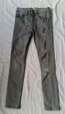 Boys Next Grey ripped style Skinny Jeans 9 Years