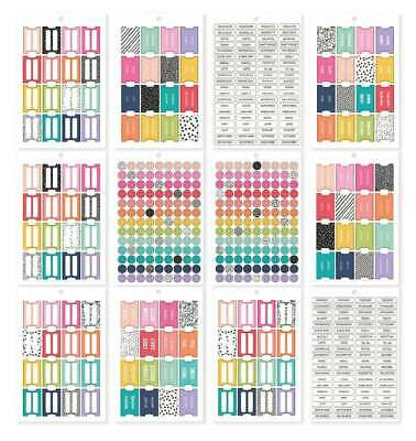 1349-6 Important Headers//Dividers Planner Stickers.