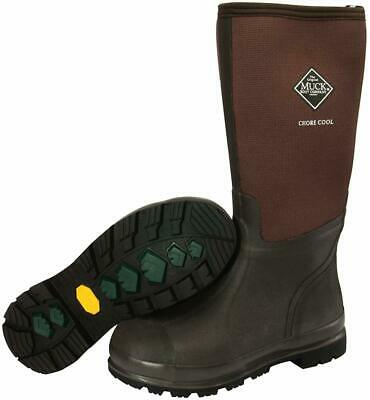 Muck Boots Chore Cool Soft Toe Warm Weather Men's Rubber Work Boot