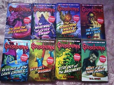 Goosebumps Series 8 Books Collection Set (Classic Covers), R.L.Stine,