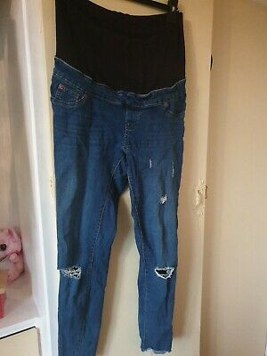 Newlook maternity over the bump Jeans Size 10