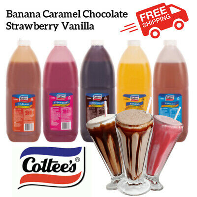 Cottees Milkshake Syrup/Ice Cream Topping FREE SHIPPING